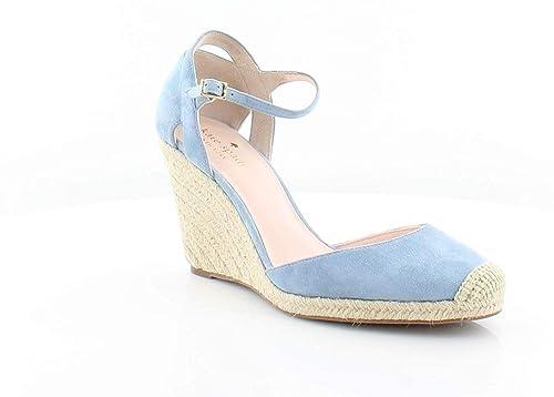 b2487657562 Kate Spade Womens Giovanna Suede Espadrille Wedge Heels Blue 10 ...