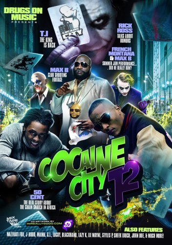 DRUGS ON MUSIC: COCAINE CITY 12