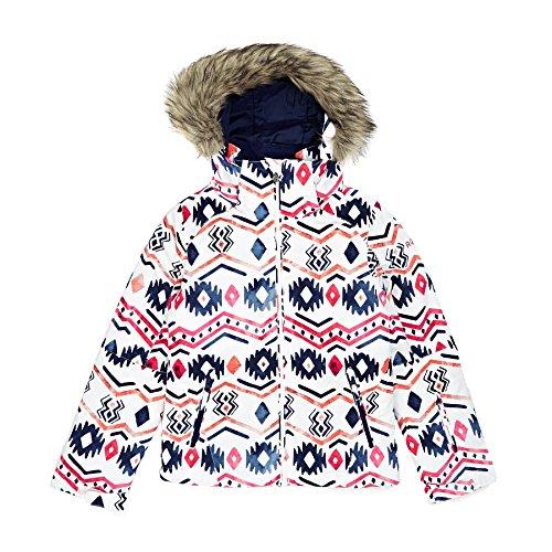 Roxy Snow Jackets - Roxy Jetty Ski GIrls Snow Jacket - Waterinca/Bright White by Roxy