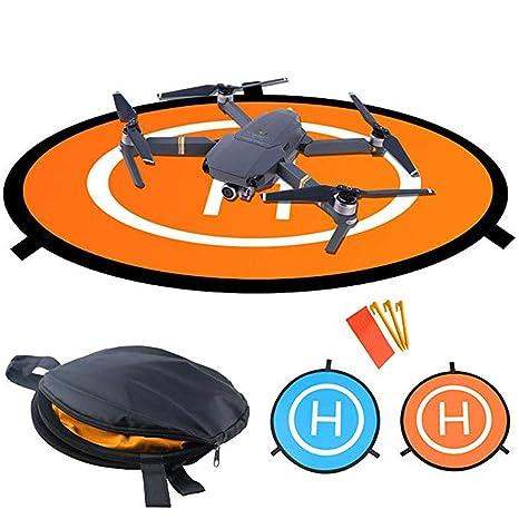 QJiang Impermeable Plegable de Aterrizaje rápido Quadcopter Drone ...