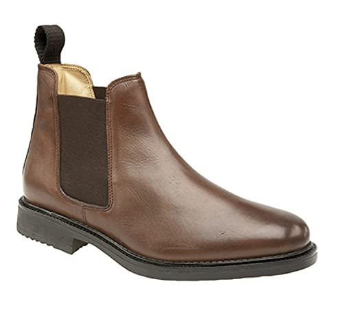c1c098785c7b Roamer Mens Leather Chelsea Boots Cushioned Leather Lining  Amazon.co.uk   Shoes   Bags