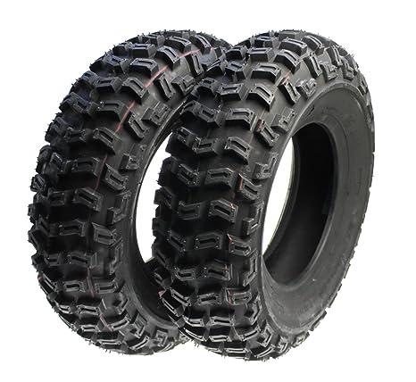 2 x Quad neumáticos, terrenos Neumáticos Juego Delantero 21 x 7.00 – 10 para Quad