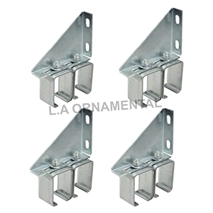 Delightful Double Sliding Wall Barn Door Track Hardware Box Rail Bracket Overhead  Galvanized Steel