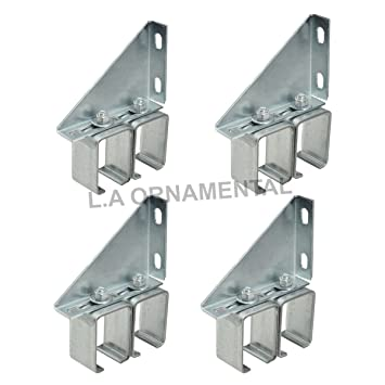 Double Sliding Wall Barn Door Track Hardware Box Rail Bracket Overhead  Galvanized Steel