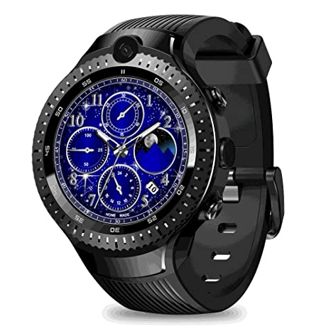 Amazon.com: Leegoal New Zeblaze Thor 4 Dual SmartWatch, Zeblaze Thor Dual Camera Android Watch 1.4-inch AMOLED Display 4G Dual Camera,1+16G Memory,Fitness ...
