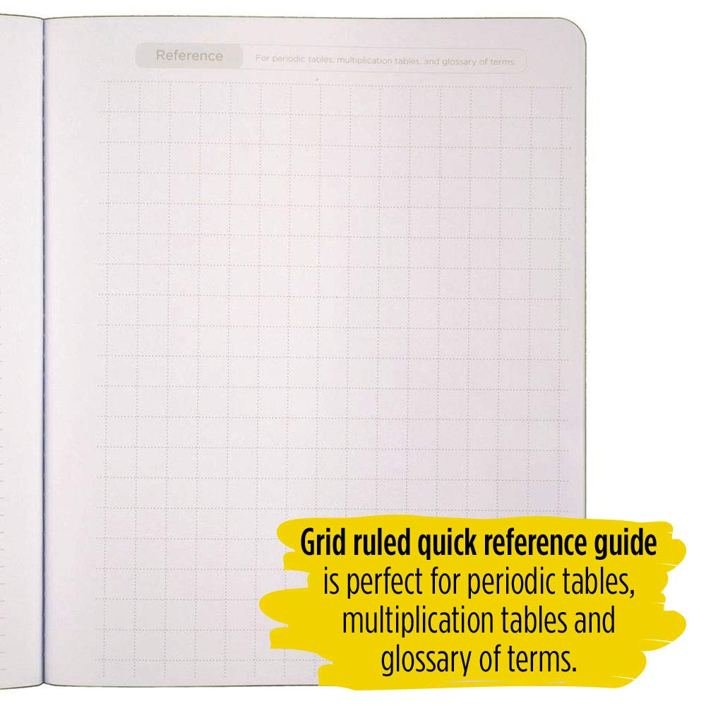 Five Star Interactive Notetaking Composition Books, 1 Subject, College Ruled Composition Notebooks, 100 Sheets, 11'' x 8-1/2'', 3 Pack (38610) by Five Star (Image #6)