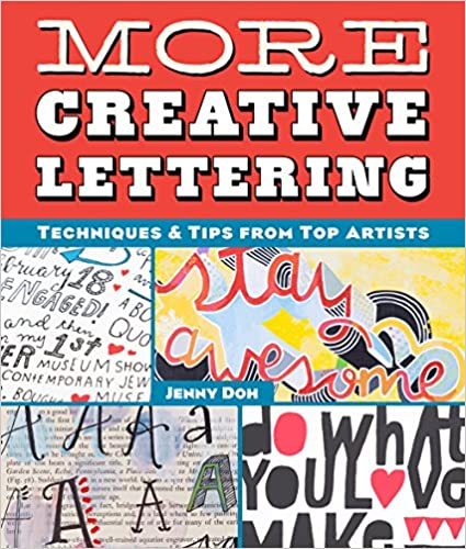 More Creative Lettering by Jenny Doh - book cover.