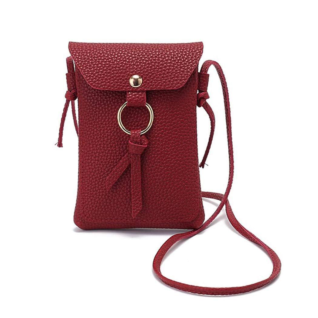 db4aec909f3e Amazon.com: Dalina Women Fashion Solid Knot Shoulder Bag Wallet For ...