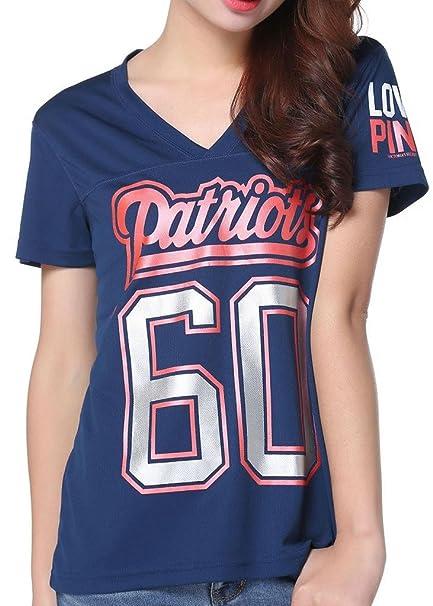 Womens NFL 60 New England Patriots Pink Victoria s Secret T-shirt X-Large aae4b3914
