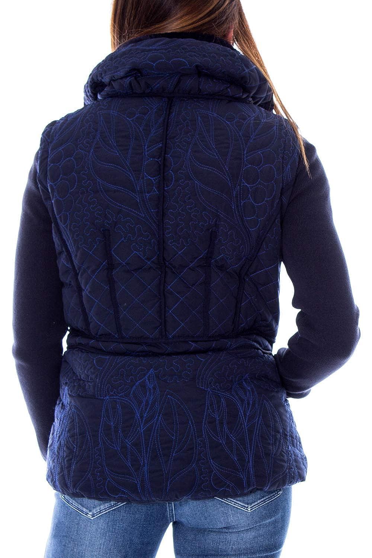 Desigual Doudoune Courte Femme Padded nivi 19wwew07 Blue