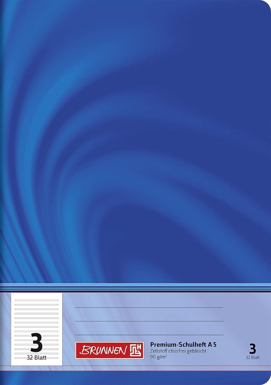Fontana 104550302–Quaderno A5Vivendi (32fogli a righe, rigatura 3, classe 3)