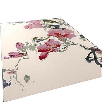 Alfombras modernas Alfombras de alfombras Alfombrillas de café Alfombras de café Material de alfombra roja Flores de corte ...