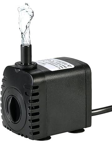 Decdeal Water Strider - 600L/H 8W Bomba de Agua Sumergible con 2 Boquillas AC220