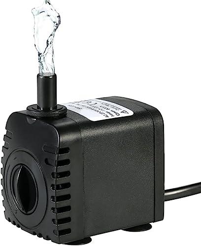 Decdeal-Mini-Wasserpumpe-600L/H-Aquariumpumpe