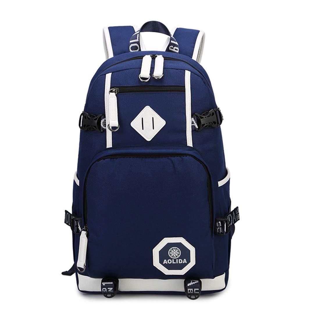 Oxford student bag waterproof men's laptop backpack by BGHDSLF
