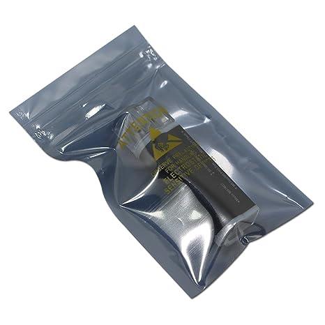 "Various QTY Premium Clear Transparent Mylar Zip Lock Bags 9x13cm 3.5x5.1/"""