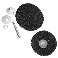 "2 x 4"" 100mm Rust & Paint Removal Abrasive Stripping Disc 6mm M8 Shank"