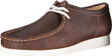 Clarks Wallabee del Hombre Antena Oxfords Zapatos