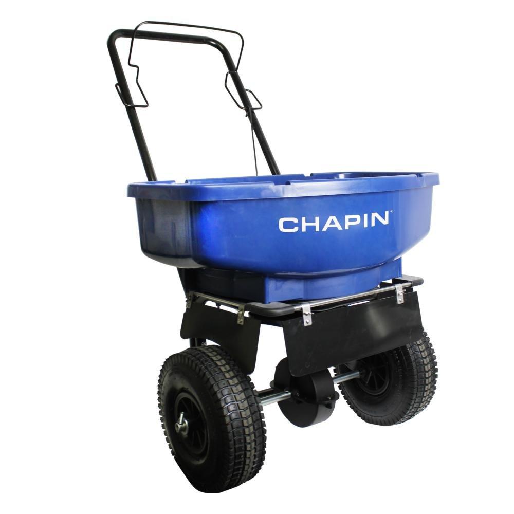 CHAPIN R E 81008A 80LB Residential Salt Spreader, 80 lb