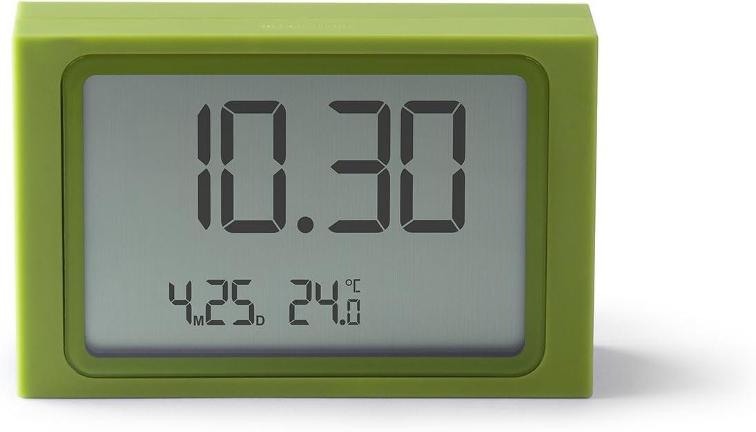 Lexon LR141W7 Slide Clock R/éveil Plastique Beige