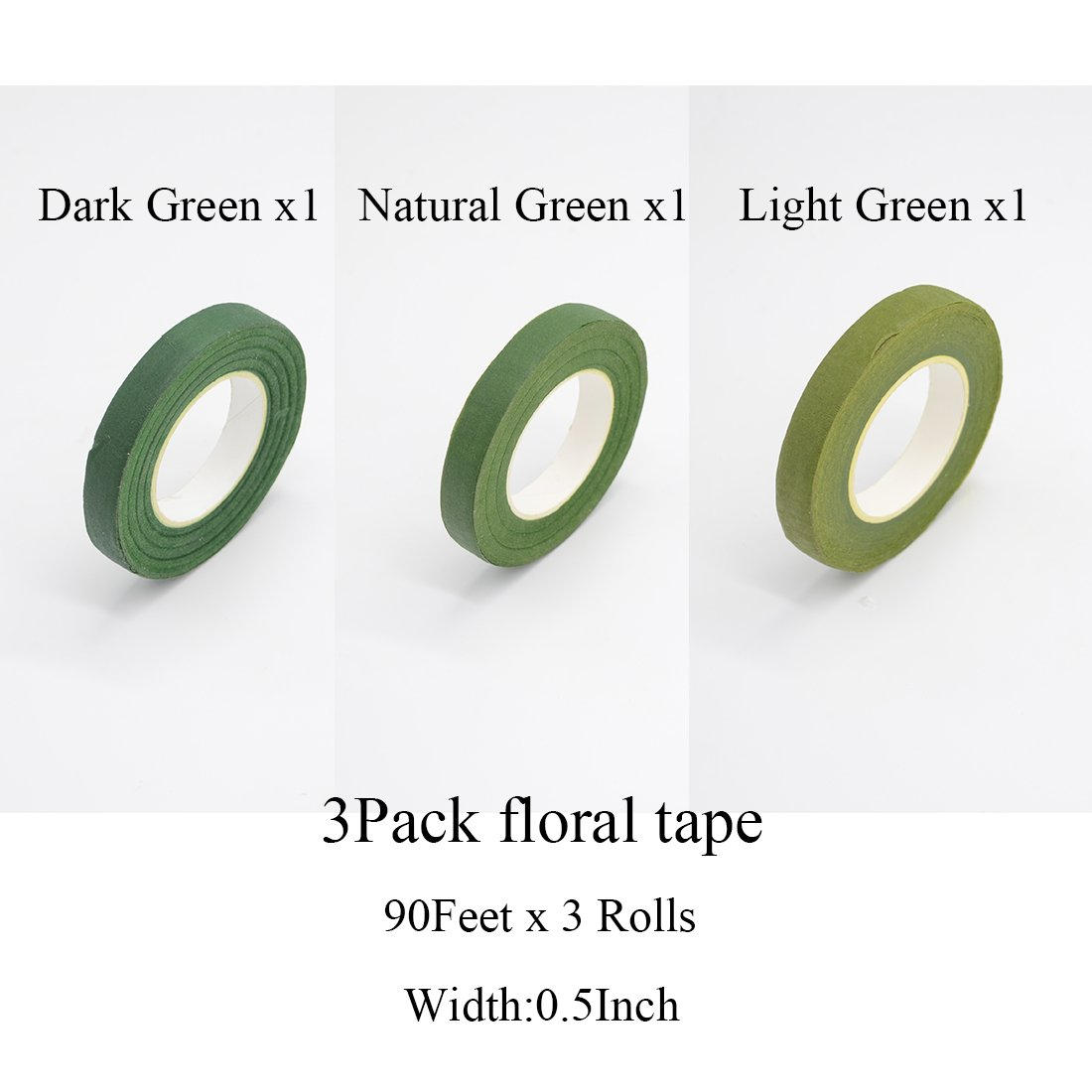 Amazon.com: FIVEWARE Floral Arrangement Tools Kit Supplies 3 Rolls ...