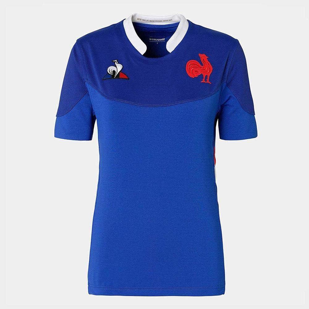 Entrainement 2019//2020 Adulte Le Coq Sportif Tee Shirt Rugby XV de France