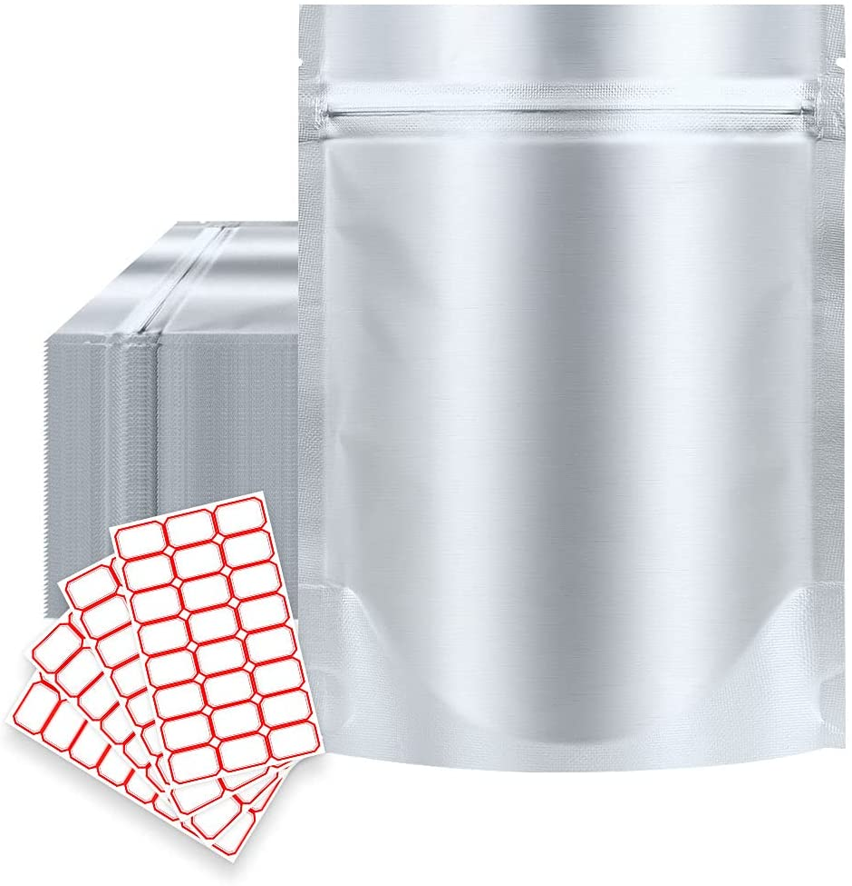 Beefeta Mylar Bags 50pcs - 1 QUART 7.8 Mil 10.4