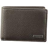 HUGO Men's Element Bifold Wallet, Dark Brown, One Size