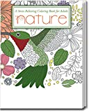 Nature, Stress Relieving Coloring Book for Adults - Package of 5