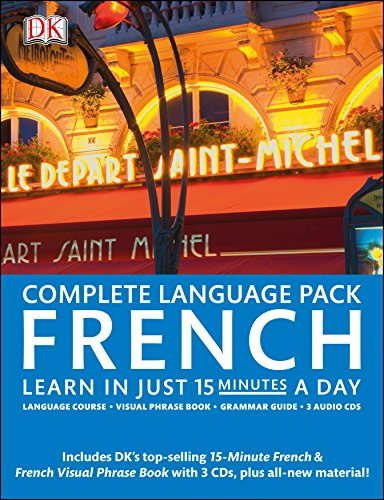 Complete French Pack: Learn in Just 15 Minutes a Day