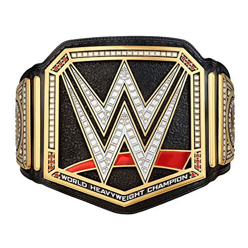 WWE Authentic Wear Unisex WWE World Heavyweight Championship Commemorative Title Belt (2014), Multicoloured, One size