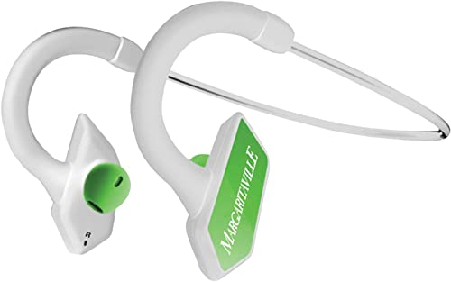 Margaritaville MVASBBT1G Bluetooth Sport Earbuds, Green