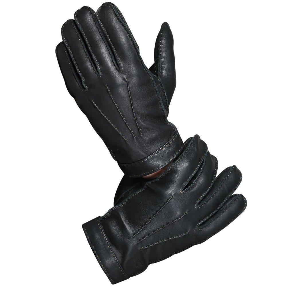 Fashion Black Short Half Finger Fingerless Wool Knit Wrist Glove Winter Warm Gloves Workout For Women And Men Drop Shipping Reputation First Men's Gloves