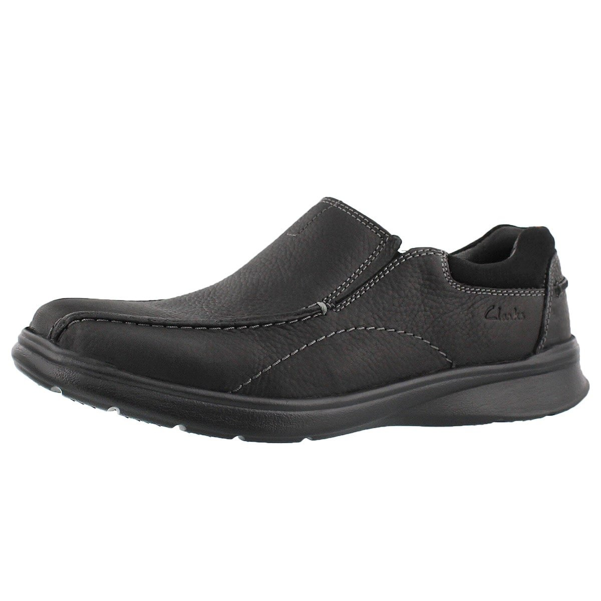 CLARKS Men's Cotrell Step Slip On Casual Loafer - Wide Black 11 W US
