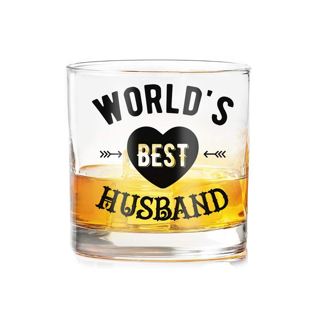 Ramposh Whiskey Glasses For Husband Gift Birthday Special Valentine Hubby Beer Mug Gifts