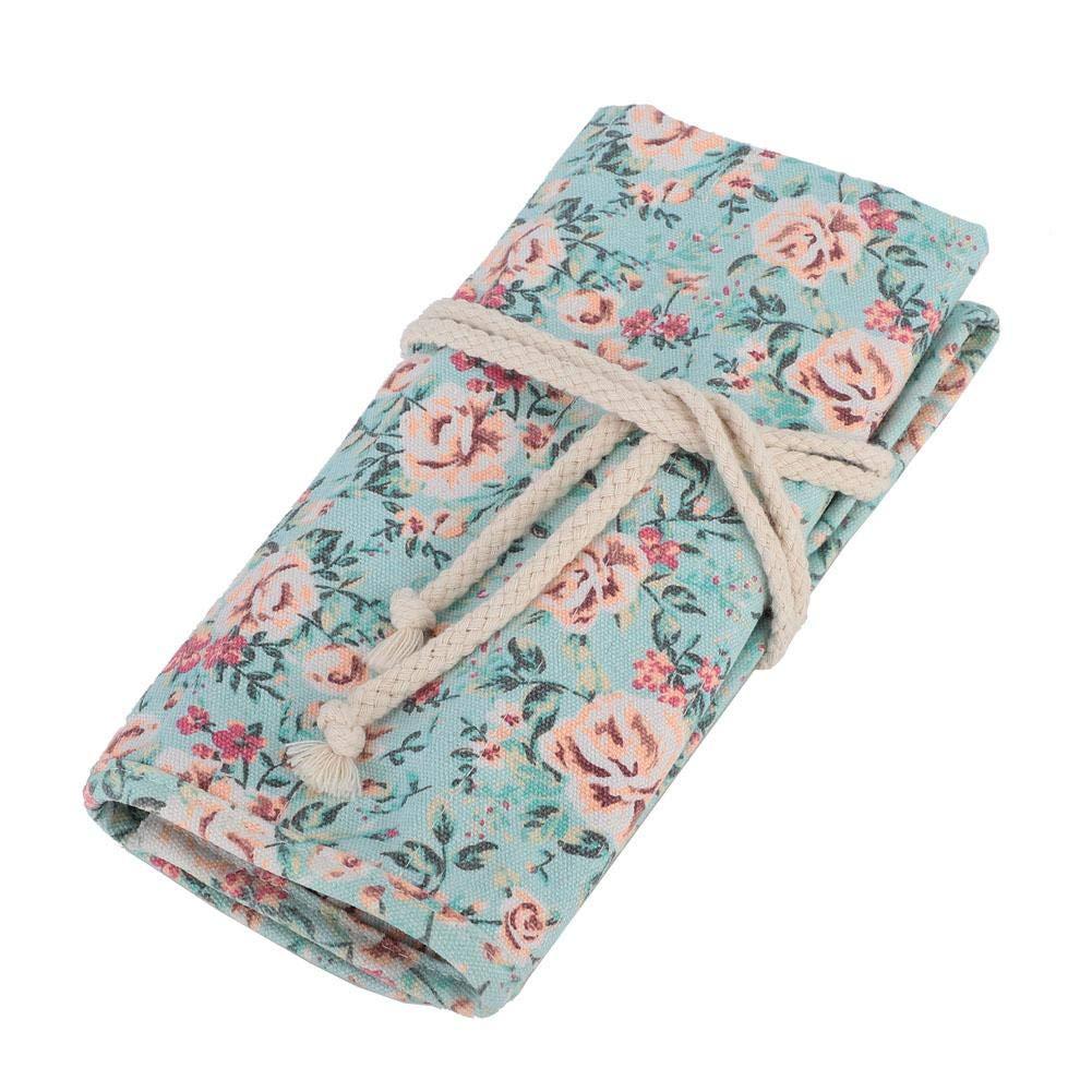 Amazon.com: Estuche para lápices, estampado floral, soporte ...