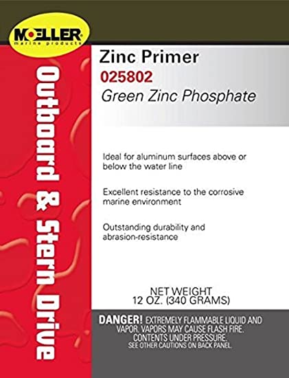 Amazon com: GREEN ZINC PHOSPHATE PRIMER: Sports & Outdoors