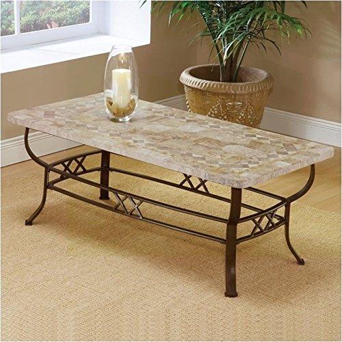 Colored Metal Table (Hillsdale Furniture 4815OTC Brookside 48