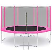 ULTRAPOWERSPORTS Filet de sécurité Coushion pour trampoline Ø245cm, Ø305cm 6barres,Ø305cm Ø366cm Ø396cm Ø430cm 8barres