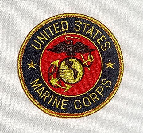 Patch//patch United States Marine Corps ca 7,5 cm
