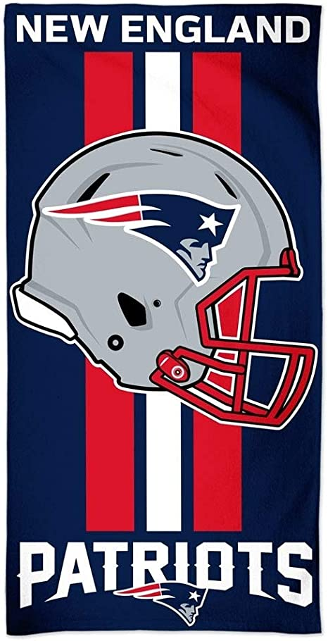 New England Patriots NFL - Toalla de Playa (150 x 75 cm): Amazon ...