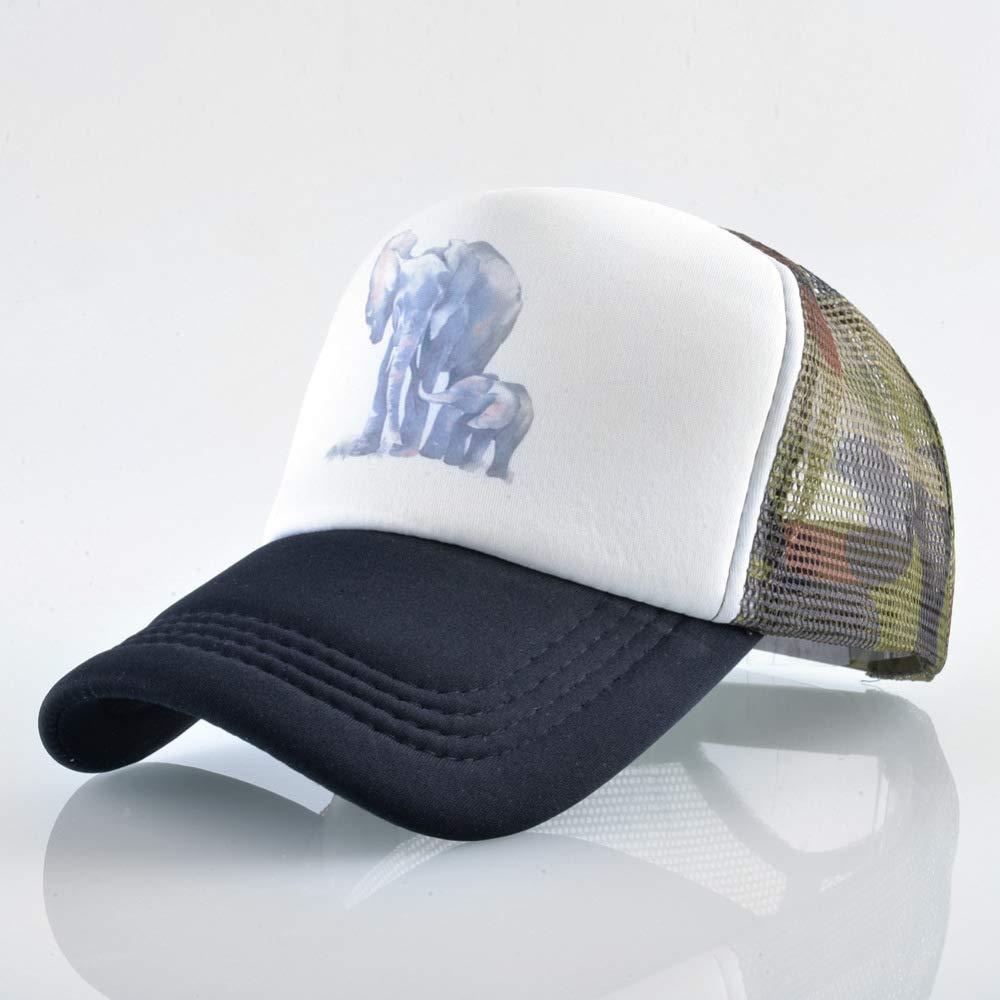 sdssup Sombrero de Elefante Entre Padres e Hijos, Gorra de béisbol ...