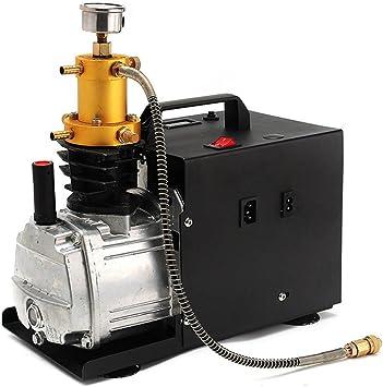 Yiyiby Hochdruckluftpumpe Elektrische 300bar 40mpa 4500psi Luft Kompressor Pcp Für Automobil Tauchflasche Industrieflasche Luftgewehr Gewehr Inflator Auto