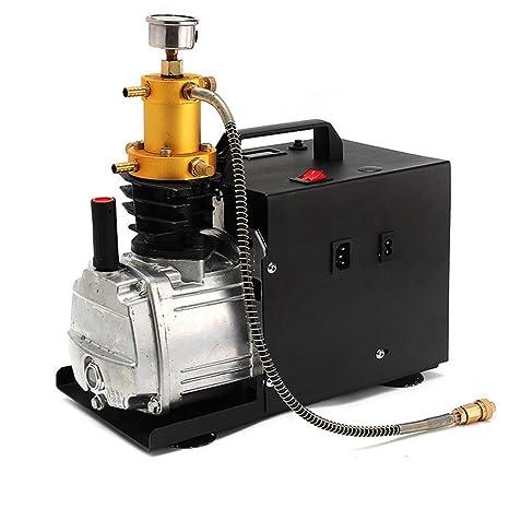 Yiiiby Bomba de Aire de Alta presión eléctrica 300BAR 40MPA 4500PSI Compresor de Aire PCP para