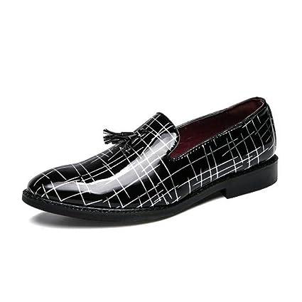 CAI Zapatos Formales para Hombres 2018 Nuevos Zapatos de Cuero Ocasionales para Hombres/Mocasines con