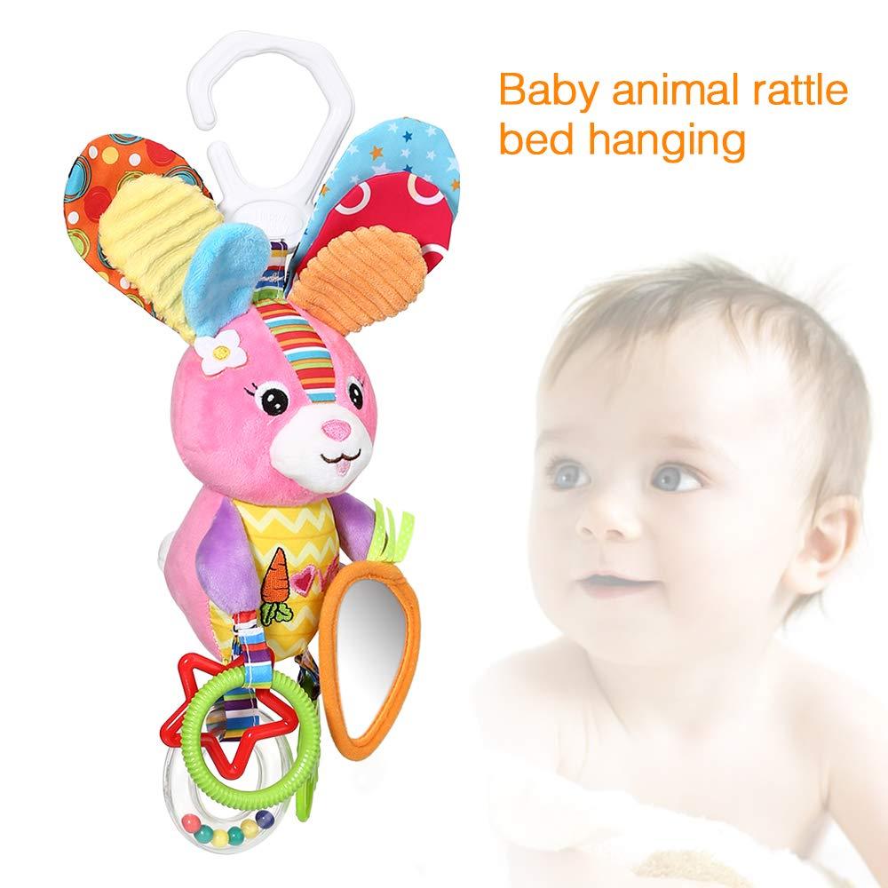 Amazon.com: DOTASI Juguetes para bebé, conejo colorido ...