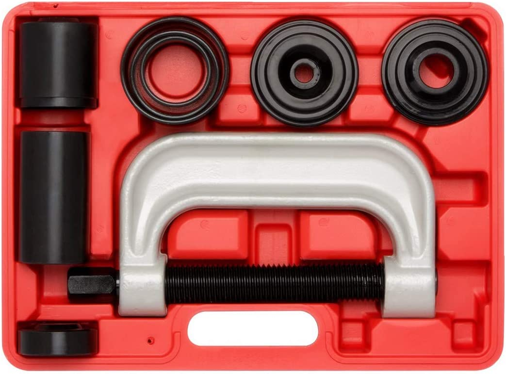 Heavy Duty Ball Joint Separator Ball Joint Press /& U Joint Removal Service Tool Kit with 4x4 Adapters PT1151