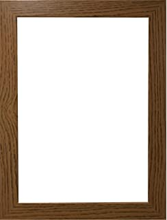 Marco de fotos moderno, con acabado de madera, en varios tamaños, madera MDF