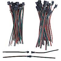 alitove 20conjuntos de 3pines JST SM macho hembra enchufe LED conector cable 15cm…