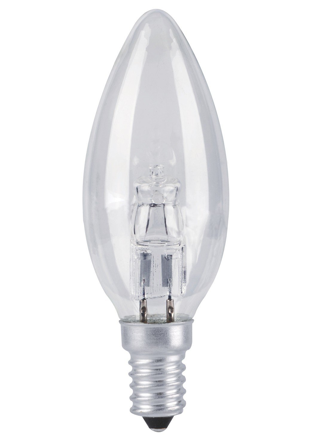 10 X 42W=55W SCREW CAP- E14 - SES AA HALOGEN CANDLE BULBS ENERGY SAVING DIMMABLE CLEAR LIGHT LONG LIFE LAMP